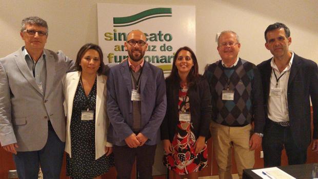 Nueva ejecutiva del SAF en Málaga, liderada por Luis Lizarte