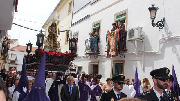 Nuestro Padre Jesús Nazareno, por la calles de Aguilar el Viernes Santo de 2017