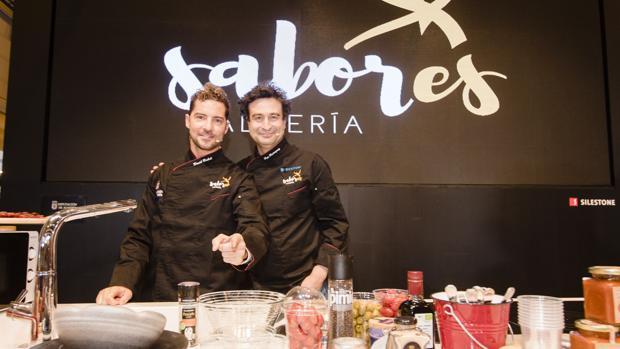 David Bisbal y Pepe Rodríguez han sido protagonistas de la marca Sabores Almería en el Salón Gourmets