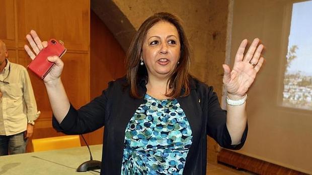 La exdirectora de la Alhambra, la socialista María del Mar Villafranca
