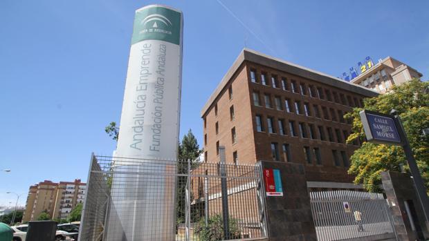 Sede la Fundación Andalucía Emprende en Sevilla