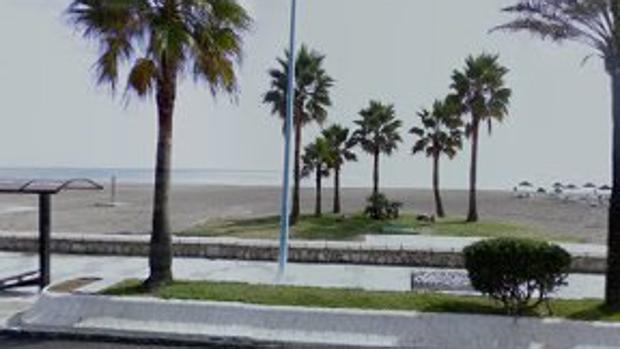 Playa de Playamar en Torremolinos