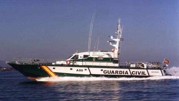 Embarcación del Servicio Marítimo de la Guardia Civil