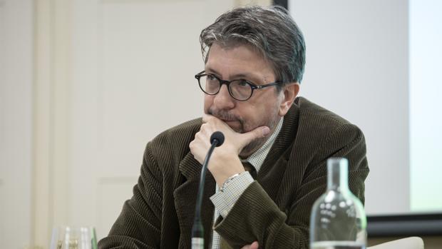 Ignacio Camacho en un reciente foro en la Fundación Cajasol