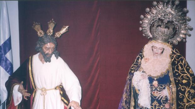 El Señor de la Divina Misericordia, cuando fue retirado del culto