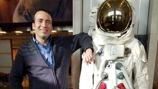 Ramón Ramírez Liñán es cofundador de Navteca, una subcontrata de la NASA