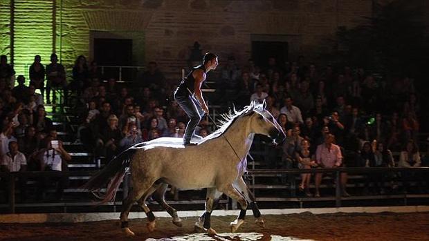 Espectáculo de Córdoba Ecuestre en Caballerizas Reales