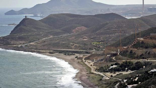 Playa del municipio almeriense de Carboneras