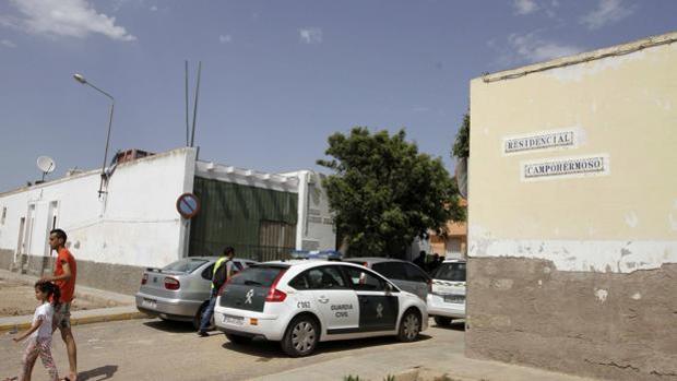 Rsidencial Campohermoso, donde se produjeron los hechos
