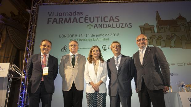 Inauguración de las VI Jornadas Farmacéuticas Andaluzas