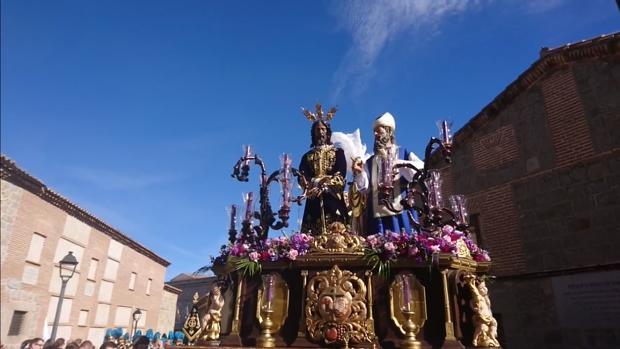 Nuestro Padre Jesús Redendor, titular de la hermandad de la Estrella de Ávila
