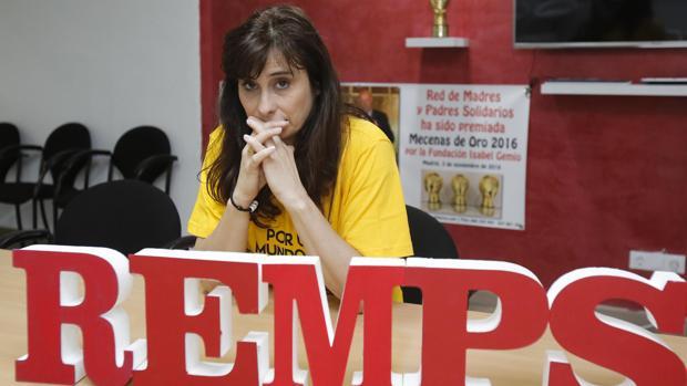 Rosa García del Rosal, presidenta de la Remps