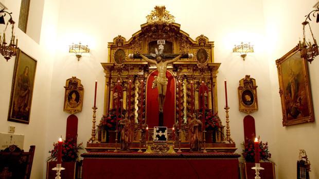 Retablo de San José, ahora en Santa Victoria (El Naranjo)