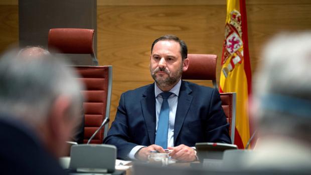 El ministro de Fomento, José Luis Ábalos,
