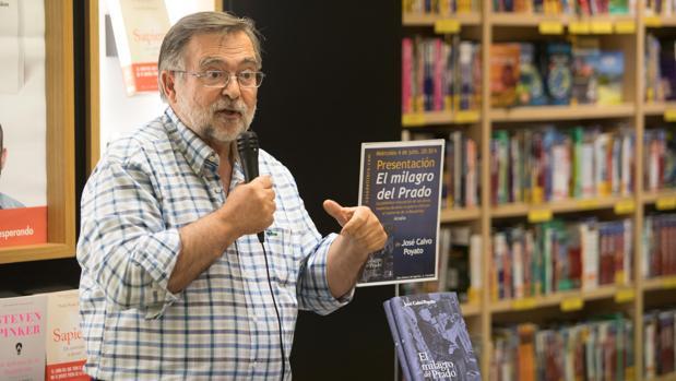 José Calvo Poyato, al presentar «El milagro del Prado»