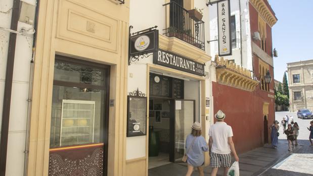 Nuevo establecimiento del bar Santos en Córdoba, en la calle Corregidor Luis de la Cerda