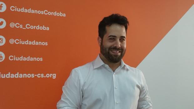 El candidato de Ciudadanos por Córdoba para las autonómicas, Francisco Carrillo