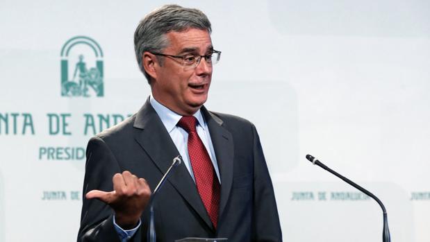 Juan Carlos Blanco, portavoz del Gobierno de Andalucía