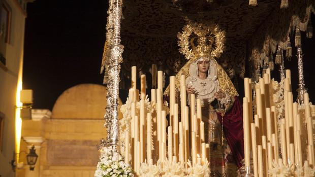La Virgen del Buen Fin, el pasado Viernes Santo