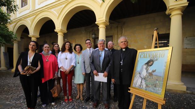 Presentación del cartel del Mes Jubilar de Jesús del Calvario de Montalbán