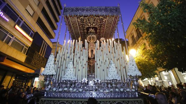 Paso de palio de la Virgen del Desconsuelo