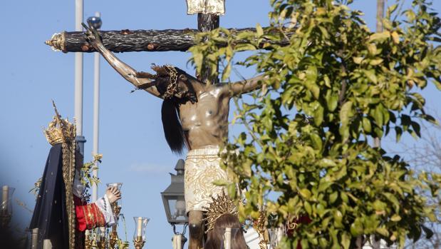 El Cristo de Gracia la pasada Semana Santa