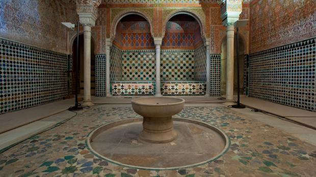 La Sala de las Camas del Baño Real de la Alhambra abre en agosto