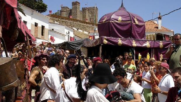 Imagen de las Jornadas Medievales que se celebrarán en Cortegana (Huelva) hasta el domingo