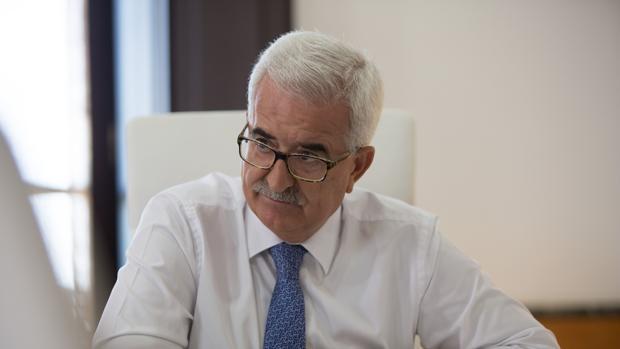 El vicepresidente la Junta, Manuel Jimenez Barrios