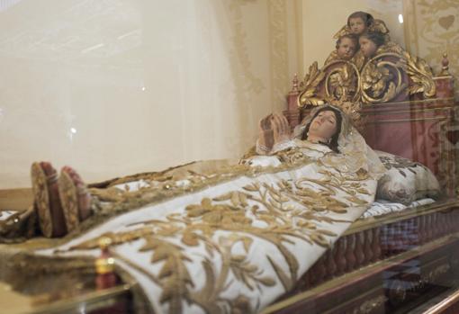 Virgen del Tránsito, de San Agustín
