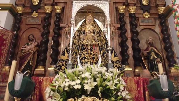 Virgen de la Sierra, de Cabra