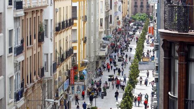 Imagen de la calle Cruz Conde cuyo nombre cambiará el Ayuntamiento