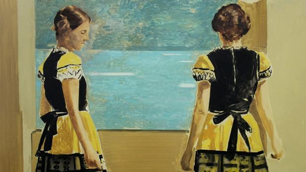 Una de las obras que pueden verse en la exposición de Gómez Losada en Málaga