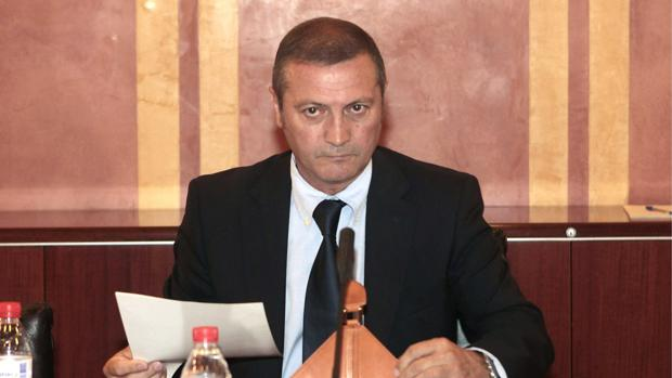 El exparlamentario andaluz Ramón Díaz Alcaraz (PSOE)
