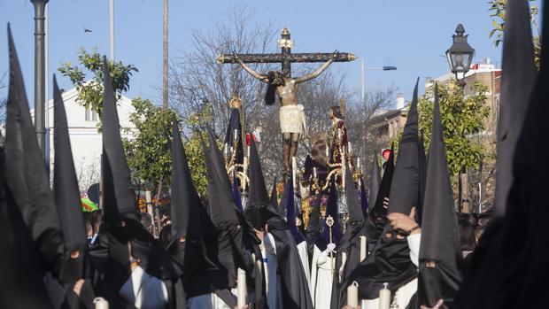 El Santísimo Cristo de Gracia, el pasado Jueves Santo