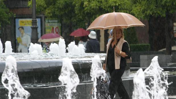 La Aemet prevé lluvias para este fin de semana en Córdoba