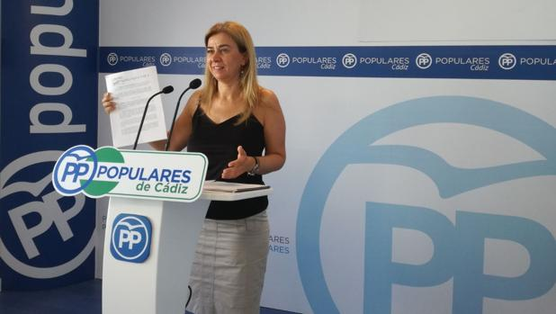 La diputada del PP Teresa Ruiz Sillero