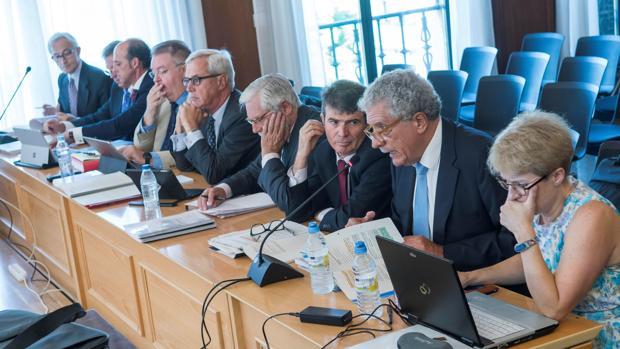 Peritos de la Intervención del Estado y los propuestos por varios ex altos cargos de la Junta en el juicio