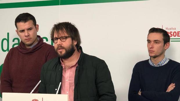 Pablo Valdera, Secretario General de Juventudes Socialistas de Huelva