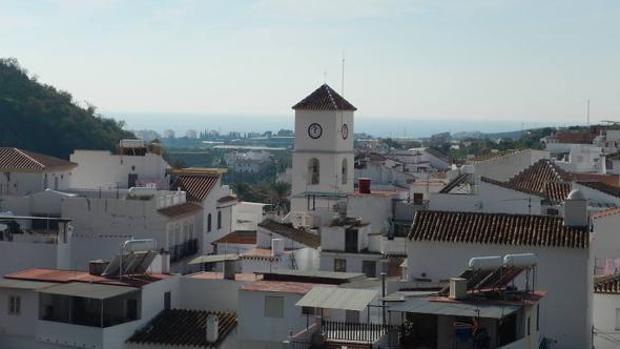 Vista del municipio de Algarrobo