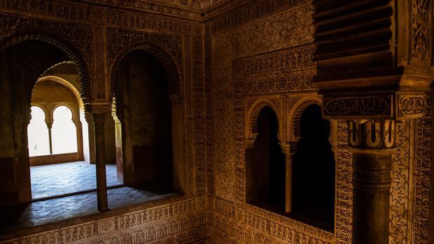 Planta superior de la Torre de las Infantas de la Alhambra de Granada.