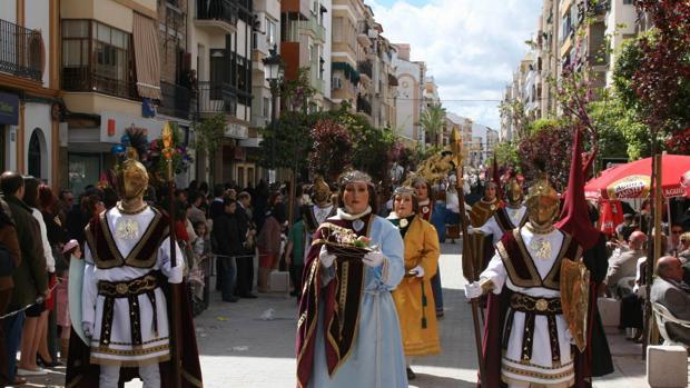 Procesión en la Semana Santa de Puente Genil