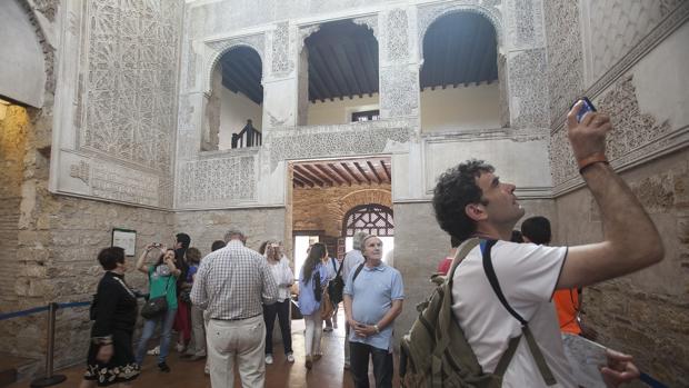 Interior de la Sinagoga en una imagen de archivo