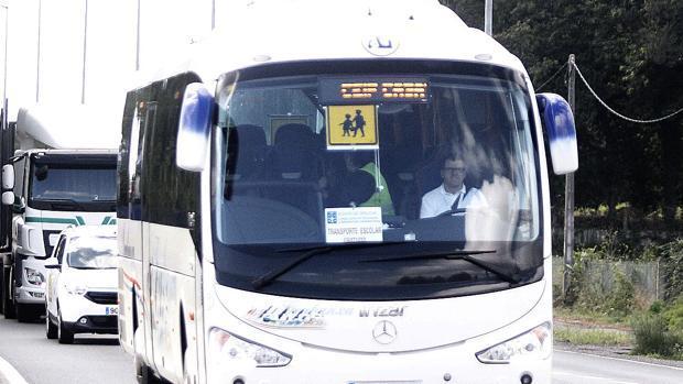 Imagen de un autobús escolar