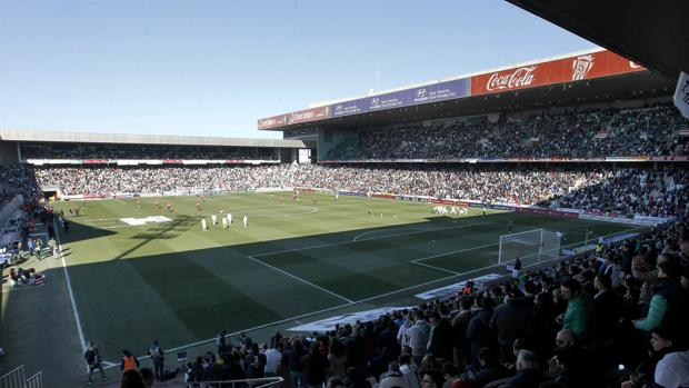 El estadio El Arcángel luce lleno en el Córdoba CF-Real Madrid de enero de 2015