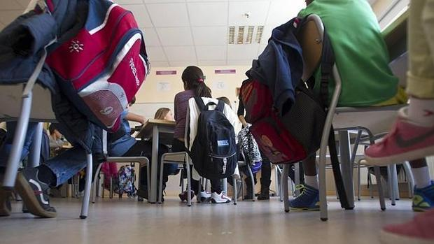 Estudiantes de un instituto