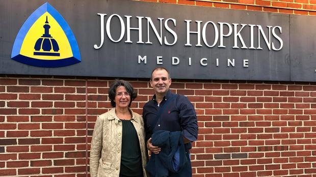 El doctor Igeño, a finales de octubre en Baltimore, adonde se dirigía cuando le salvó la vida a Nicolás