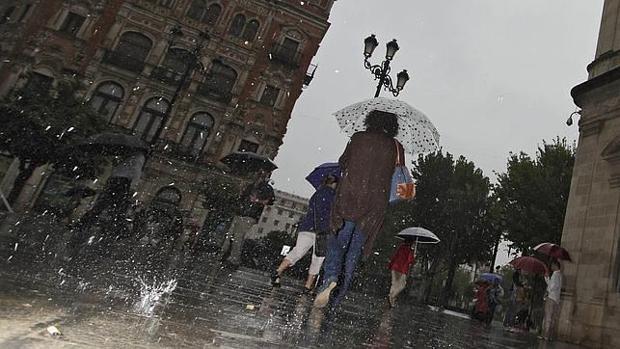 Las lluvias llegan para quedarse en Andalucía