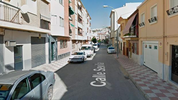 El incendio tuvo lugar en la calle Sevilla de la localidad jienense