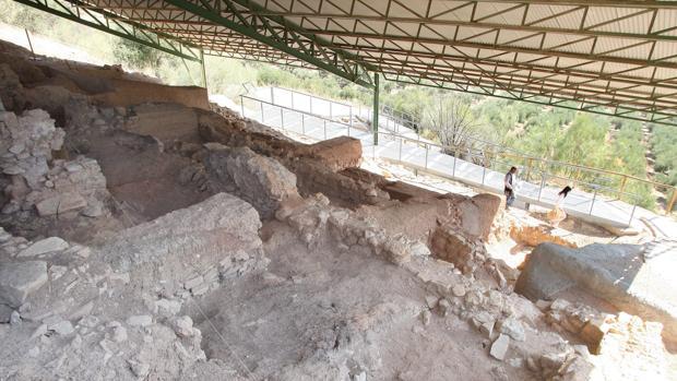 Yacimiento arqueológico en Almedinilla